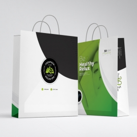 Health Relax & Spa Shopping Bag