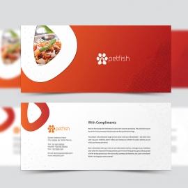 Healthy Food & Restaurant Compliment Card