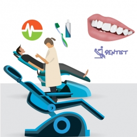Healthy Teeth Vector Design