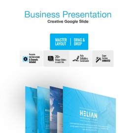 Helian Google Slide Template