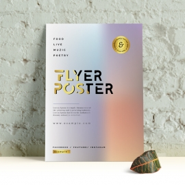 Hologram Flyer / Poster Template