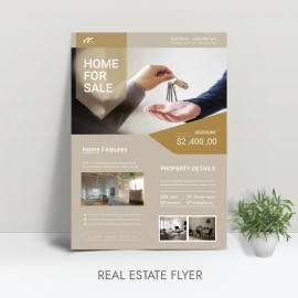 home for sell flyer
