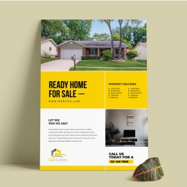 Home Sale & Real Estate Flyer
