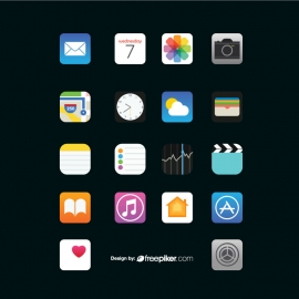 iPhone Icon Set