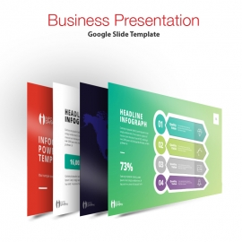 Info Graph Multipurpose Business Google Slide  Presentation Template