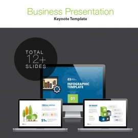 Infographic Keynote Presentation Template