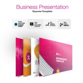 Infographic Multipurpose Business Keynote Presentation Template