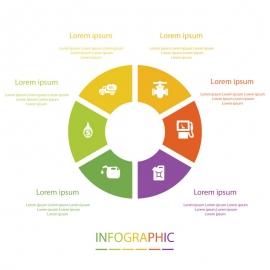 Infographic Round Design