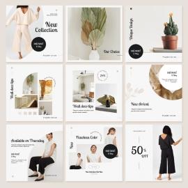 Instagram Shop Engagement Kit Template