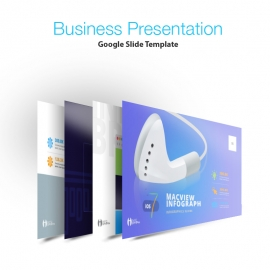 iOS 7 Infographic Multipurpose Business Google Slide  Presentation Template