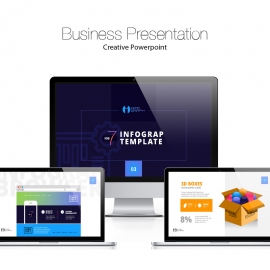 iOS 7 Infographic Powerpoint Presentation