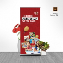 Junior School Eudcation Rollup Banner