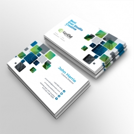 KapolChat Simple Business Card