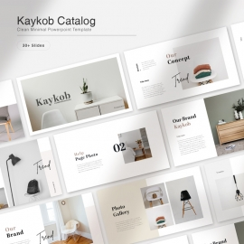 Kaykob Product Catalog PowerPoint Presentation
