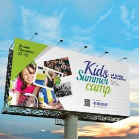 Kids Summer Camp Billboarrd Signage