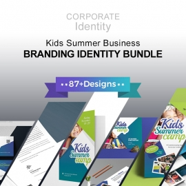 Kids Summer Camp Corporate Identity Pack Template