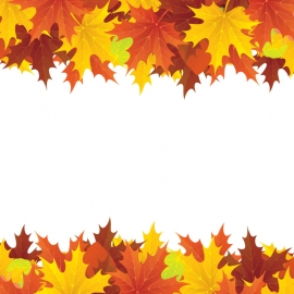 Leaf Background With Different Color
