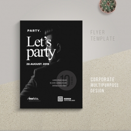 Let's Party Flyer Template