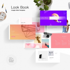 Look Book Google Slide Template