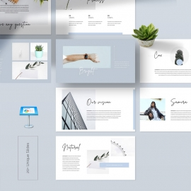 Look Book Keynote Template