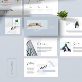 Look Book PowerPoint Template