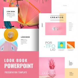 Look Book PowerPoint Template