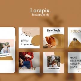 Lorapix Instagram Posting Kit