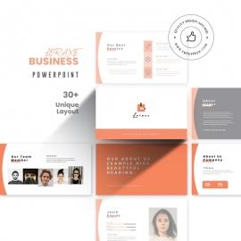 Loraxe Business PowerPoint Presentation