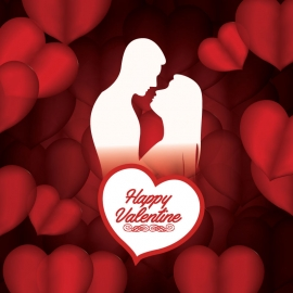 Love Background For Valentine