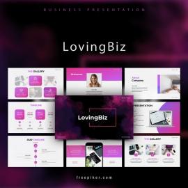 LovingBiz Powerpoint Presentation