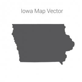 Lowa Map Dark vector design