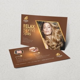 Luxury Beauty Salon PostCard