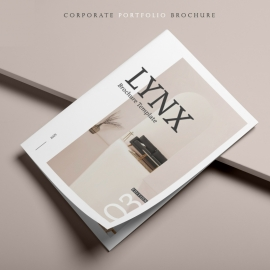 LYNX Portfolio Brochure Template