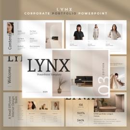 LYNX Portfolio Powerpoint Template