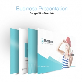Marketing Business Google Slide Presentation Template