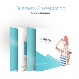 Marketing Business Keynote Presentation Template