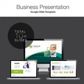 Medical Care Google Slide Presentation Template