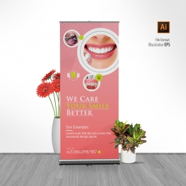 Medical Dental Rollup Banner