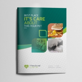 Medical & Health Care Bifold Brochure