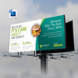 Medical & Health Care Billboard Banner