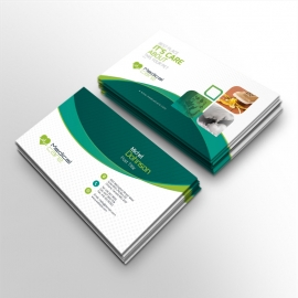 Medical & Health Care Business Card