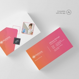 Medical & Health Care Business Card Template