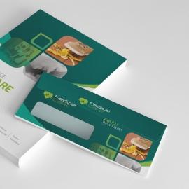 Medical & Health Care Commerial Envelope