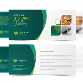Medical & Health Care Compliment Card