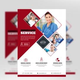 Medical & Health Care Flyer