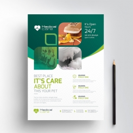 Medical & Health Care Flyer Design