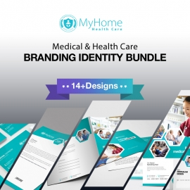 Medical & Health Care Identity Stationery Bundle