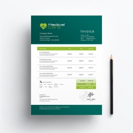 Medical & Health Care Invoice