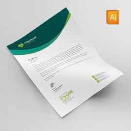 Medical & Health Care Letterhead