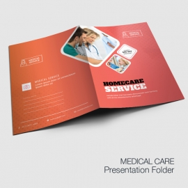 Medical & Health Care Presentation Folder